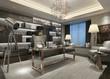3d render of luxury office