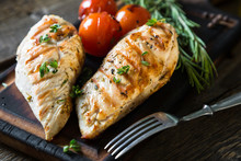 Chicken Breast Grilled With He...