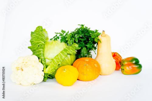 Assortment of fresh vegetables © Nichizhenova Elena