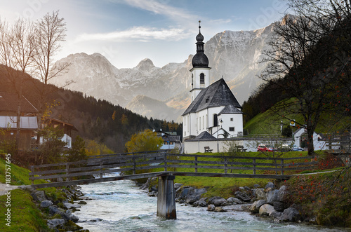 Autumn view of St Canvas Print