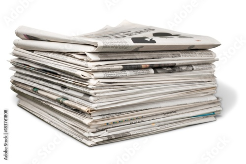 Fototapeta  Stack of Newspapers