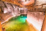 Wieliczka Salt Mine interior in Poland - 183772282