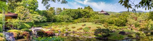 Obraz na plátne Nara, Japan - Isuien Garden. Japanese style garden