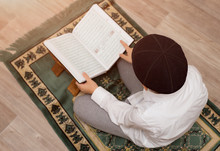 Little Boy Read The Quran