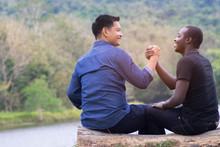 Concept Of Best Friends,Africa...