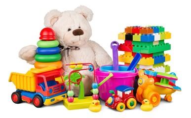 Teddy Bear and Toys