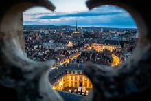 Dijon Depuis Le Sommet De La Tour Philippe Le Bon Du Palais Des Ducs Et Des Etats De Bourgogne