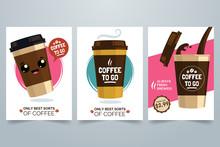 Hot Coffee Cartoon Illustratio...