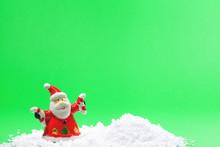 SANTA CLAUS CHRISTMAS SCENE GR...