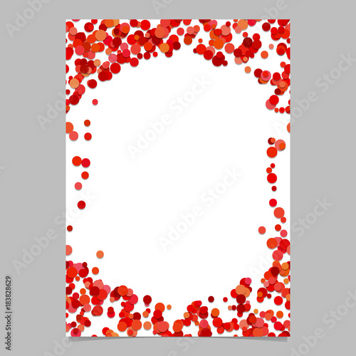 Geometrical Chaotic Dot Design Cover Background Template Digital