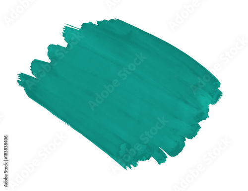 A fragment of the fashionable  retro green Arcadia color background painted with Canvas Print