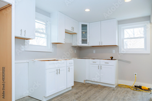 Instal Kitchen Cabinets Interior Design Construction Of A