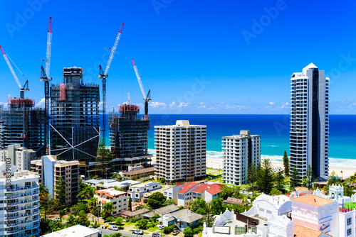 Fényképezés  Gold Coast cityscape