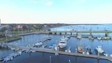 St Augustine Municipal Marina Aerial Video