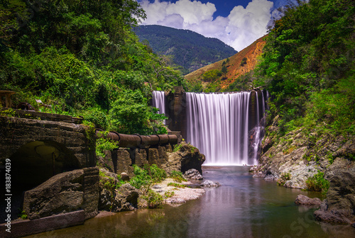 Photographie Reggae Falls Located in the beautiful Parish of St Thomas, Jamaica