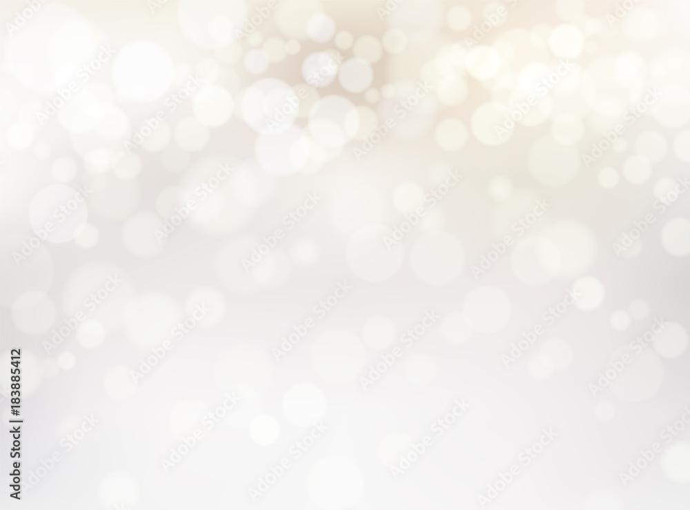 Fototapety, obrazy: ホワイトゴールドの輝き抽象背景