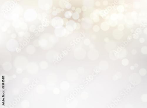 Fotografía ホワイトゴールドの輝き抽象背景