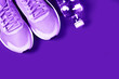 Leinwanddruck Bild - Sport objects background