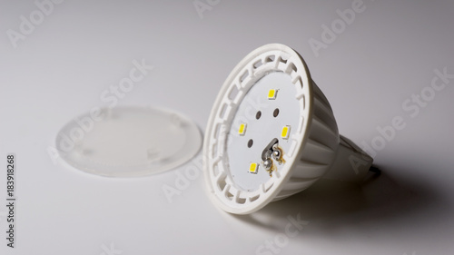 LED light bulb  used and disassembled  energy saving - Buy this
