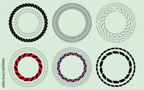 Obraz Rope Set - fototapety do salonu