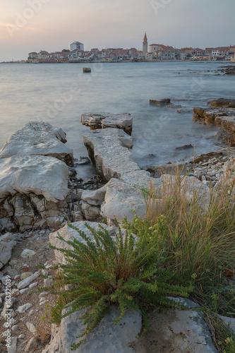 Keuken foto achterwand Noordzee Stadt Umag Istrien, Kroatien
