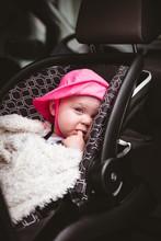 Baby Lying In Strollers