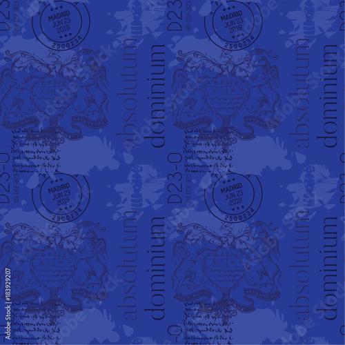 Absolutum dominium - absolute dominion in latin language Wallpaper Mural