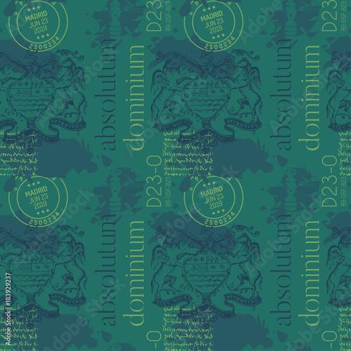 Fotografie, Obraz  Absolutum dominium - absolute dominion in latin language