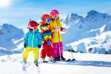 Ski And Snow Winter Fun For Ki...