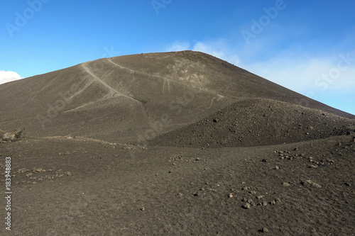 crateri sommitali vulcano Etna 46 Canvas Print