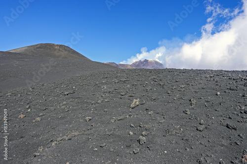 crateri sommitali vulcano Etna 58 Wallpaper Mural