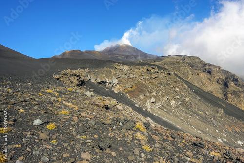 crateri sommitali vulcano Etna 94 Wallpaper Mural