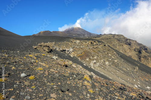 Photo crateri sommitali vulcano Etna 94