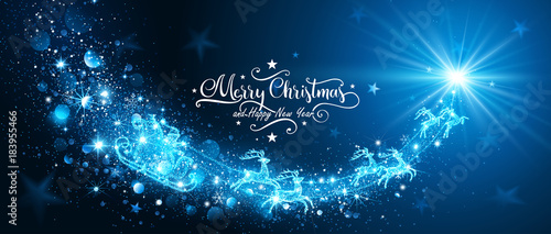 Foto Magic Star with Santa Claus