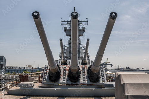 Battleship New Jersey Fototapeta