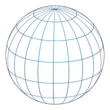 Vector Illustration Of Globe I...
