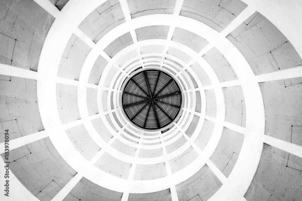 Photo & Art Print Spirale (Schwarz/Weiß)   EuroPosters