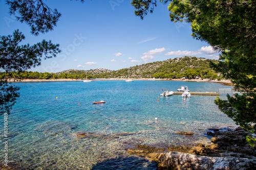 Tela traumhafte Buchten und Natur auf den Inseln Kroatiens