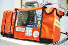 Modern Portable Biphasic Defibrillator