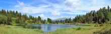 Panorama Lago Di Montagna