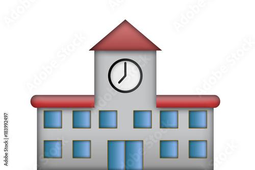 Photo Ayuntamiento con reloj.