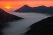 Summer sunset in the Saliencia Valley, Asturias