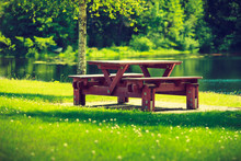 Rest Place In Park, Picnic Tab...