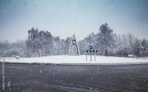 Papiers peints Paris British Roads in Snow