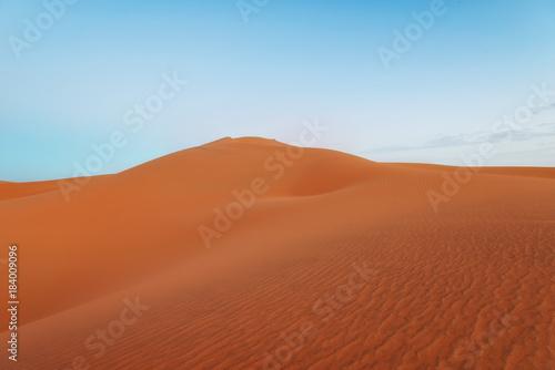 Foto op Aluminium Koraal Sahara Desert Morocco