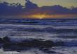 Sonnenuntergang vor Insel Hiddensee