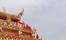 Bun Bang Fai In Thailand.