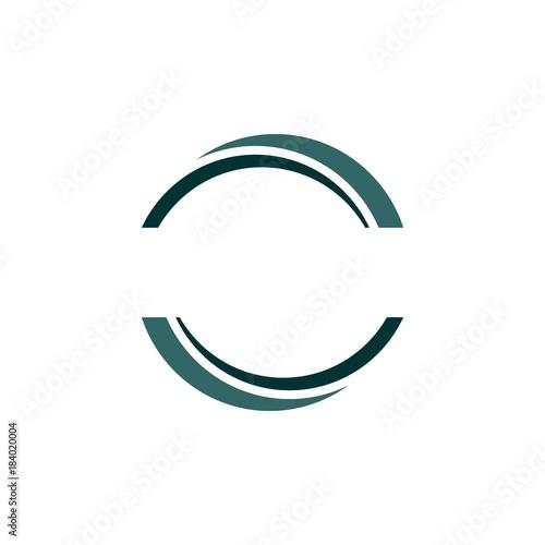 Fotografía  Half Circle Logo Element