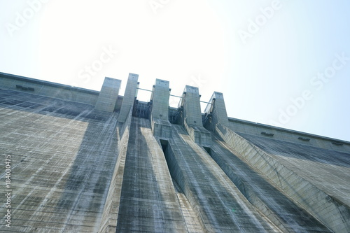 Photo sur Toile Barrage 滝沢ダム 堤体