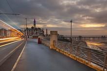Blackpool At Sunset, England, UK